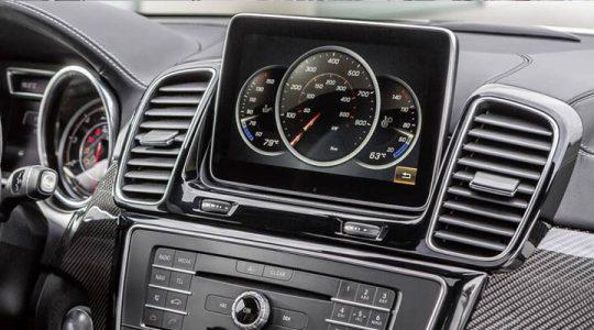 Дисплей Mercedes GLE 2019