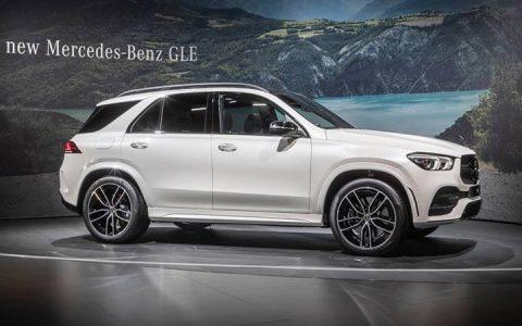 Обновленный Mercedes GLE 2019 в Париже