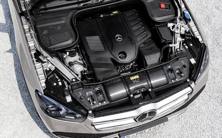 Силовой агрегат Mercedes GLE 2019 года