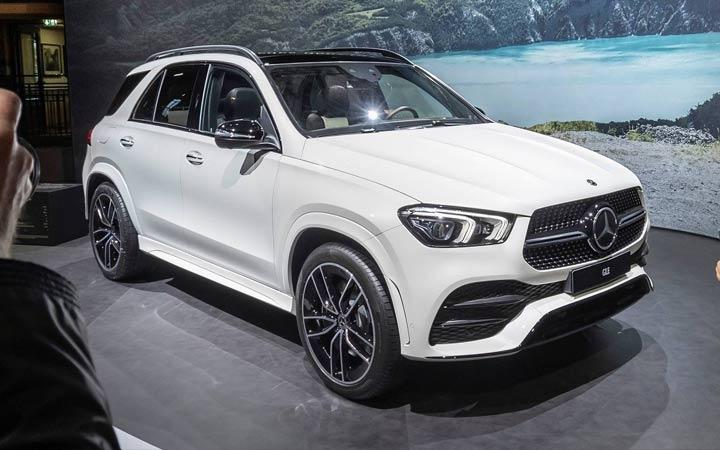 Новый дизайн Mercedes GLE 2019