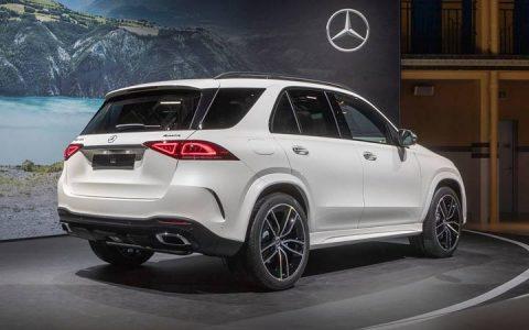 Экстерьер Mercedes GLE 2019
