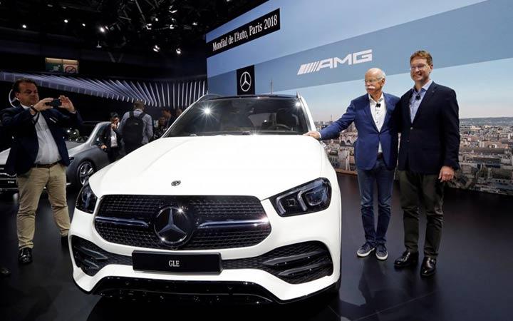 Парижский автосалон Mercedes GLE 2019 года