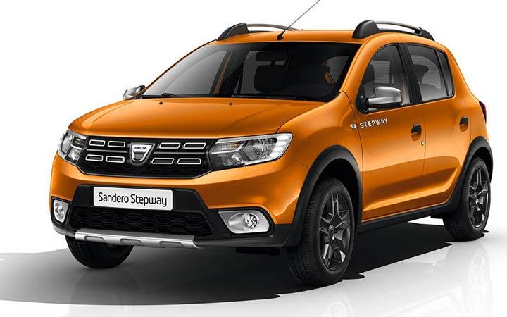 Экстерьер Renault Sandero 2019