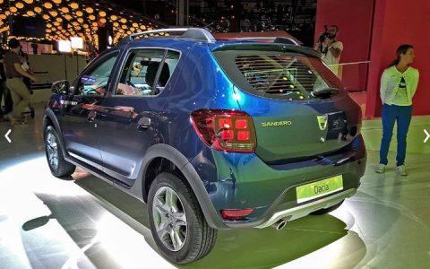 Задний бампер Renault Sandero 2019 года