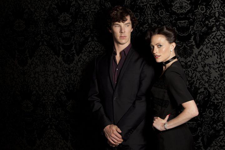 Шерлок и Ирен Адлер