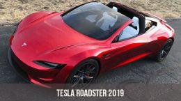 Tesla Roadster 2019 года