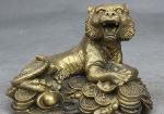 тигр на монетах