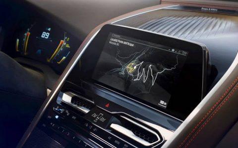 Монитор BMW 8-series 2019 года