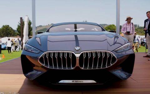 Концепт BMW 8-series 2019 года