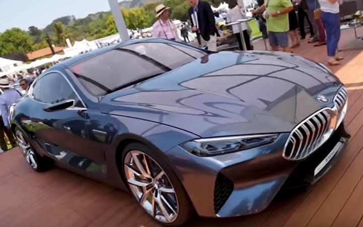 Презентация BMW 8-series
