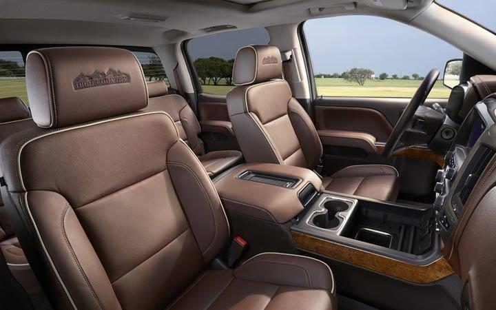 Салон Chevrolet Silverado 2019