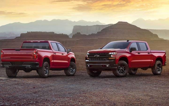 Первые фото Chevrolet Silverado 2019