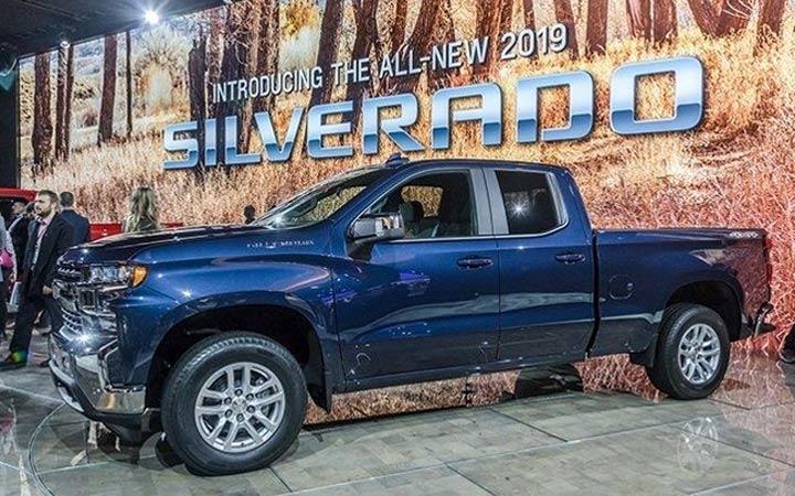 Новый пикап Chevrolet Silverado 2019 года
