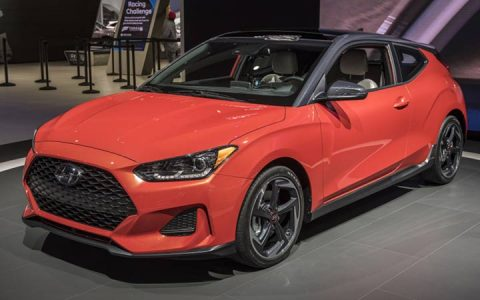 Спортивный Hyundai Veloster 2019