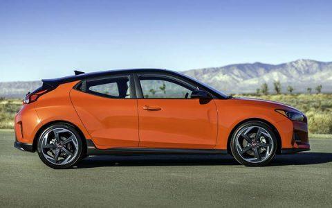 Новый стиль Hyundai Veloster 2019