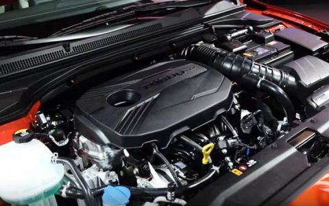 Турбированный двигатель Hyundai Veloster 2019