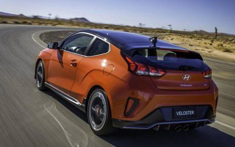 Задний бампер Hyundai Veloster 2018-2019