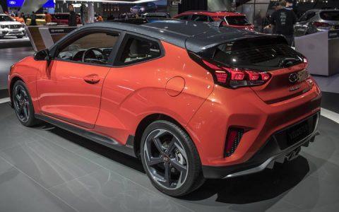 Экстерьер спортивной версии Hyundai Veloster 2019