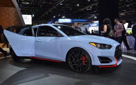 Базовая комплектация Hyundai Veloster 2019