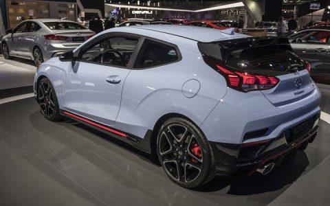 Экстерьер базовой версии Hyundai Veloster 2019