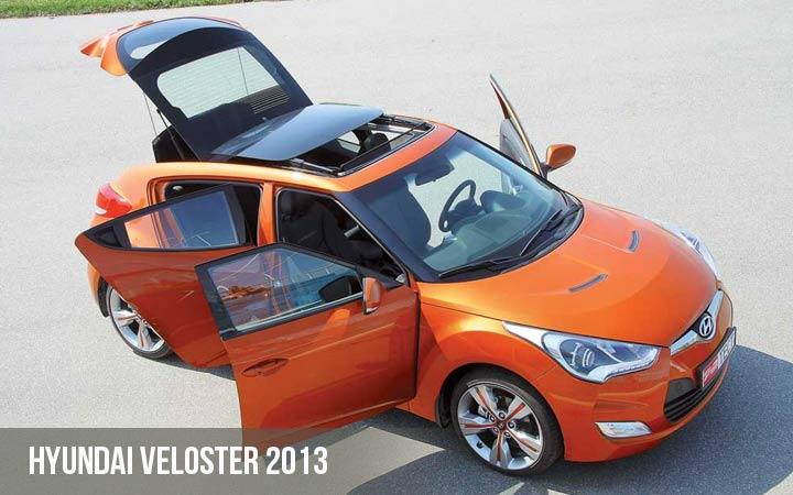 Hyundai Veloster 2013 года