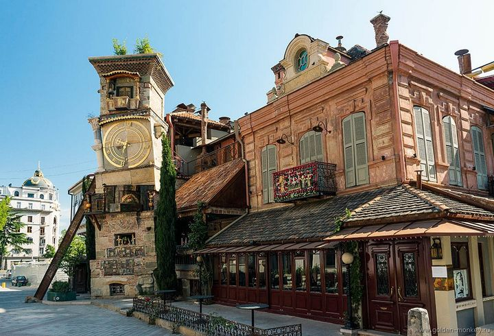 Тбилиси, Старый город, театр марионеток