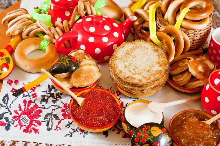 праздничные кушанья