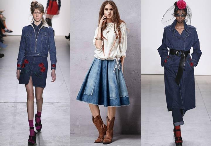 Модный деним в 2018 году
