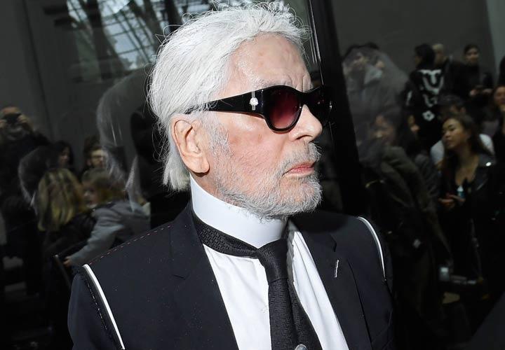 Лагерфельд с бородой