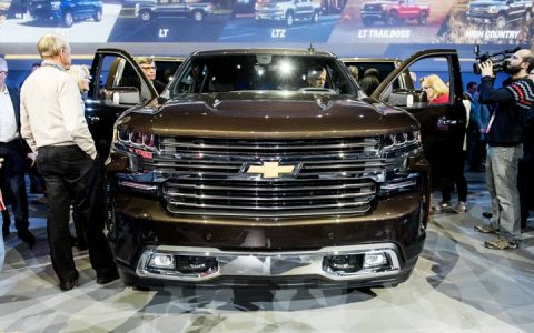 Экстерьер Chevrolet Silverado 2019