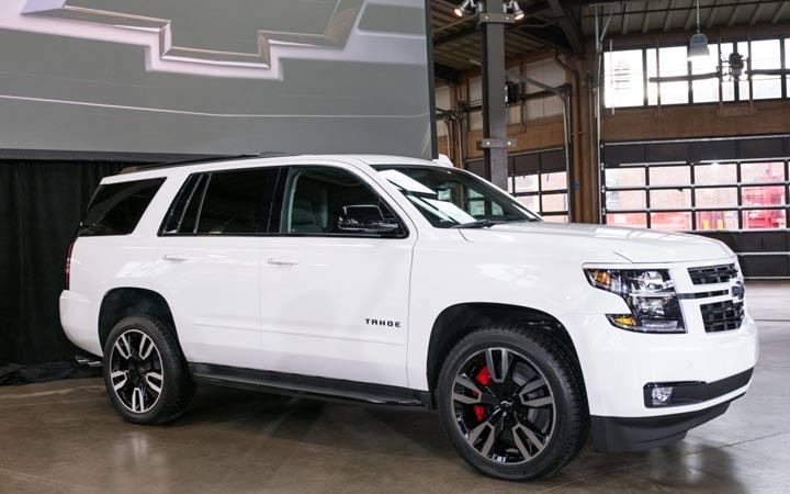 Экстерьер Chevrolet Tahoe 2018