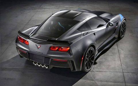 Экстерьер Chevrolet Corvette C8 2019