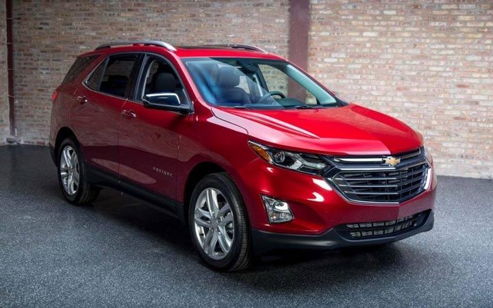 Chevrolet Equinox 2019 года