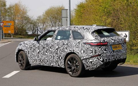 Range Rover Evoque в камуфляже