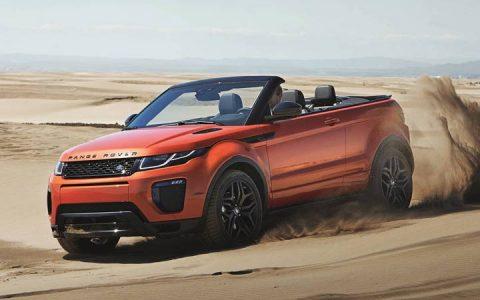 Range Rover Evoque кабриолет 2018
