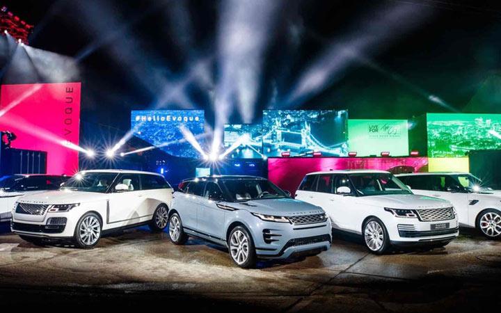 Презентация Range Rover Evoque 2019 года