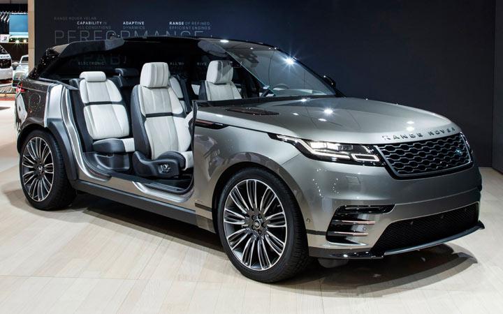 Салон Range Rover Evoque 2019 года