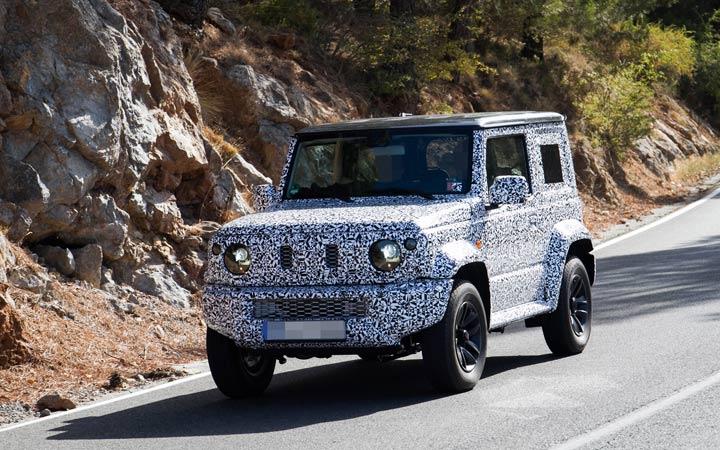Новый мини-джип Suzuki Jimny 2019 года
