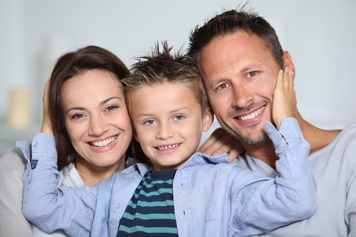 Семья с ребенком