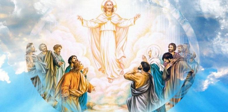 икона вознесения Иесуса