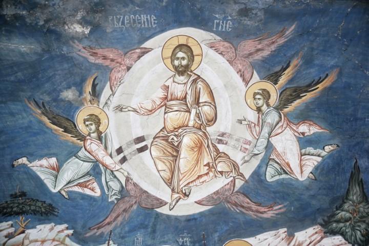 мозаика в храме вознесения Иесуса