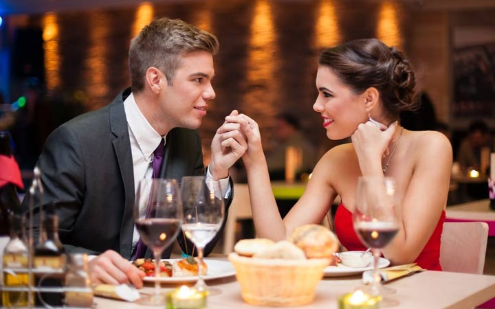Романтический ужин в ресторане в подарок на Новый Год