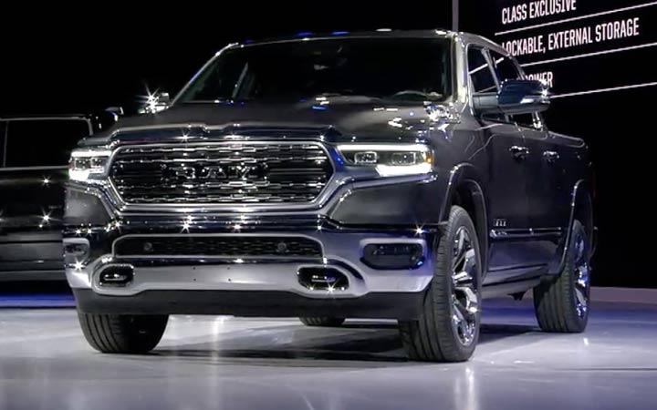 Экстерьер Dodge Ram 2019
