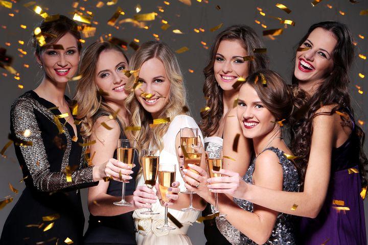 Новогодняя вечеринка среди коллег