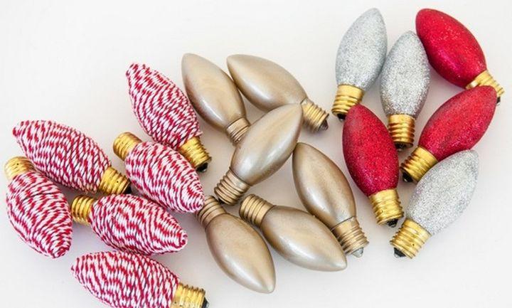 Лампочки для новогодней гирлянды