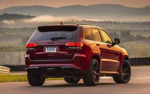 Задний бампер Jeep Grand Cherokee 2018-2019