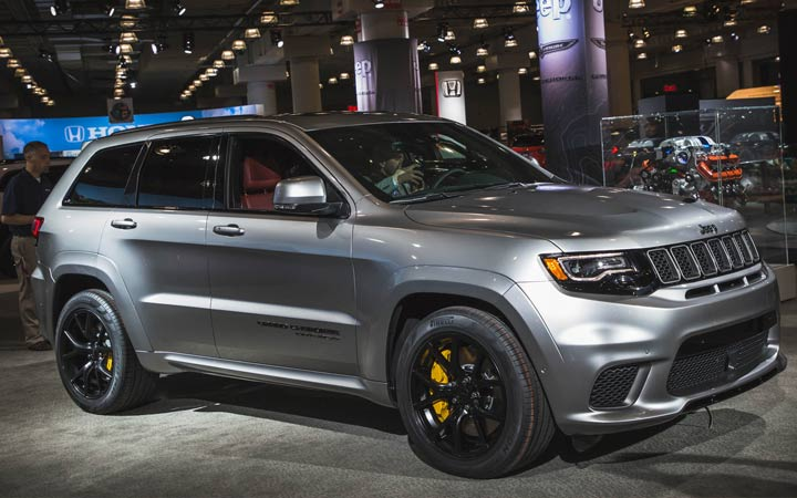 Єкстерьер Jeep Grand Cherokee 2019