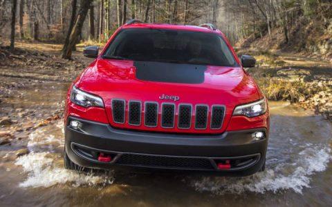 Экстерьер Jeep Grand Cherokee 2019