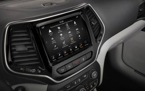 Монитор Jeep Grand Cherokee 2019