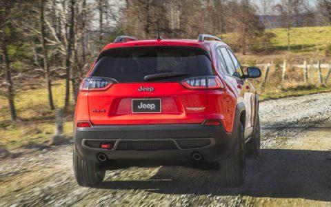 Задний бампер Jeep Grand Cherokee 2019